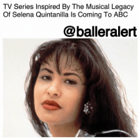 TV Series Inspired By The Musical Legacy Of Selena Quintanilla Is Coming To ABC - blogged by @MsJennyb ⠀⠀⠀⠀⠀⠀⠀ ⠀⠀⠀⠀⠀⠀⠀ Anything For Selenas! ⠀⠀⠀⠀⠀⠀⠀ ⠀⠀⠀⠀⠀⠀⠀ According to Variety, ABC has given a put pilot commitment to a series inspired by the musical legacy of the late international superstar, Selena Quintanilla. Simply put-the network has agreed to pick-up and air the series. ⠀⠀⠀⠀⠀⠀⠀ ⠀⠀⠀⠀⠀⠀⠀ Although still untitled, the project will be written and co-executive produced by Miguel Nolla. However, family members of the Queen of Tejano music will have a hand in production, including her sister, Suzette Quintanilla Arriaga. ⠀⠀⠀⠀⠀⠀⠀ ⠀⠀⠀⠀⠀⠀⠀ According to the publication, the new show will focus on successful pop star, Alex Guerra, who has been estranged from her family for years. However, a crisis leads her back to her hometown, where she will juggle her love life, her career and family secrets. ⠀⠀⠀⠀⠀⠀⠀ ⠀⠀⠀⠀⠀⠀⠀ A premiere date has yet to be released.: TV Series Inspired By The Musical Legacy  Of Selena Quintanilla ls Coming To ABC  @balleralert TV Series Inspired By The Musical Legacy Of Selena Quintanilla Is Coming To ABC - blogged by @MsJennyb ⠀⠀⠀⠀⠀⠀⠀ ⠀⠀⠀⠀⠀⠀⠀ Anything For Selenas! ⠀⠀⠀⠀⠀⠀⠀ ⠀⠀⠀⠀⠀⠀⠀ According to Variety, ABC has given a put pilot commitment to a series inspired by the musical legacy of the late international superstar, Selena Quintanilla. Simply put-the network has agreed to pick-up and air the series. ⠀⠀⠀⠀⠀⠀⠀ ⠀⠀⠀⠀⠀⠀⠀ Although still untitled, the project will be written and co-executive produced by Miguel Nolla. However, family members of the Queen of Tejano music will have a hand in production, including her sister, Suzette Quintanilla Arriaga. ⠀⠀⠀⠀⠀⠀⠀ ⠀⠀⠀⠀⠀⠀⠀ According to the publication, the new show will focus on successful pop star, Alex Guerra, who has been estranged from her family for years. However, a crisis leads her back to her hometown, where she will juggle her love life, her career and family secrets. ⠀⠀⠀⠀⠀⠀⠀ ⠀⠀⠀⠀⠀⠀⠀ A premiere date has yet to be released.