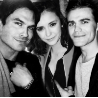 Memes, 🤖, and Tvd: [TVD Wrap Party] THIS IS NOT REAL IT'S PHOTOSHOPPED BY SOMEONE We couldn't even get a photo from all of them I'm so bitter we deserve better than this