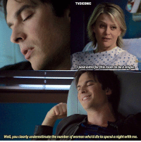 [6x11] their friendship is so cute and underrated😂❤️ —— q: Do you like Damon and Liz's friendship? —— my edit give credit { damonsalvatore lizforbes elizabethforbes tvd thevampirediaries vampirediaries tvdforever tvdiconic6x11 }: TVDICONIC  paid extra forthis room to bea single  Well you clearly underestimate the numberof women who'd die to spend a nightwith me. [6x11] their friendship is so cute and underrated😂❤️ —— q: Do you like Damon and Liz's friendship? —— my edit give credit { damonsalvatore lizforbes elizabethforbes tvd thevampirediaries vampirediaries tvdforever tvdiconic6x11 }
