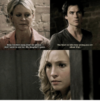 2.05 — i love how damon stuck up for caroline. After everything he did to her in season one he needed to do the right thing by her Q: Damon + Liz or daroline?: TVDSEDITS  Keep Caroline away from me please, i  don't want to see her. My daughters gone.  You have no idea how wrong you are  about that. 2.05 — i love how damon stuck up for caroline. After everything he did to her in season one he needed to do the right thing by her Q: Damon + Liz or daroline?