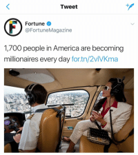 I never wanted to be apart of a statistic so bad until now https://t.co/EN5jffWSAF: Tweet  Fortune  @FortuneMagazine  1,700 people in America are becoming  millionaires every day for.tn/2vlVKma I never wanted to be apart of a statistic so bad until now https://t.co/EN5jffWSAF