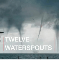 "Memes, Hurricane, and Nature: TWELVE  WATERSPOUTS Multiple waterspouts, also known as ""water twisters"", were filmed in Russia this week. Spotted off the coast of Sochi, the weather phenomenon led to a warning being issued - and to some stunning footage. russia sochi water sea twister hurricane sky amazing nature naturephotography"