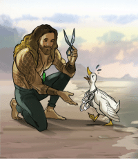Tumblr, Blog, and Http: twiggymcbones:  Aquaman, protector of the seven seas!