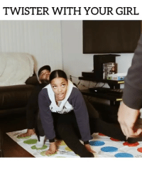 TWISTER WITH YOUR GIRL w- @cortneyelise & @nel: TWISTER WITH YOUR GIRL  THES TWISTER WITH YOUR GIRL w- @cortneyelise & @nel