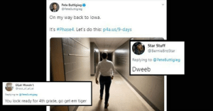 Twitter Roasts Pete Buttigieg For His Staged 'Walk Back To Iowa': Twitter Roasts Pete Buttigieg For His Staged 'Walk Back To Iowa'