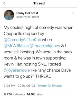 Twitter Thread: How Dave Chappelle Taught A Comedy Crowd About The History Of Black People And Police: Twitter Thread: How Dave Chappelle Taught A Comedy Crowd About The History Of Black People And Police