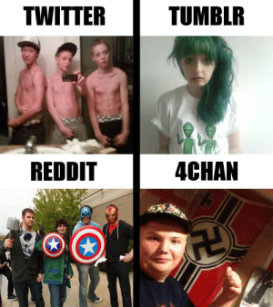 4chan, Dank, and Internet: TWITTER  TUMBLR  REDDIT  4CHAN The 4 horseman of the internet by TheChaddestChad MORE MEMES
