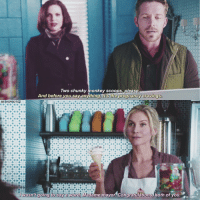 Memes, Monkey, and Pregnancy: Two chunky monkey scoops, please  And before you say anything its the pregnancy cravings.  BETH SPHOTOZ  wasn't  going to say a Word, Madame mayor Congratulations, both  of you. part four of my pregnant outlawqueen au: regina gets strong cravings for icecream during her first stages of pregnancy... Robin takes her out for cones 💘 - still want me to continue? 😜 - { ouat once onceuponatime reginamills lanaparrilla robinhood seanmaguire outlawqueen ingrid snowqueen elizabethmitchell}