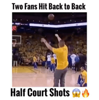 """Two fans hit back to back half court shots at Trail Blazers game! 😨👀 Comment """"BALLER"""" Letter by Letter without being Interrupted for a follow! (98.9% actually can't do it!) 😳 @athletemixtapes - (FOLLOW @Sportzmixes FOR A CHANCE TO WIN A SHOUTOUT!🔥): Two Fans Hit Back to Back  Half Court Shots Two fans hit back to back half court shots at Trail Blazers game! 😨👀 Comment """"BALLER"""" Letter by Letter without being Interrupted for a follow! (98.9% actually can't do it!) 😳 @athletemixtapes - (FOLLOW @Sportzmixes FOR A CHANCE TO WIN A SHOUTOUT!🔥)"""