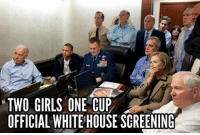 TWO GIRLS ONE CUP OFFICIAL WHITEHOUSE SCREENING