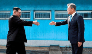 Roast, Korean, and First: Two Korean men have first roast session in 65 years. (2018, not colorized)