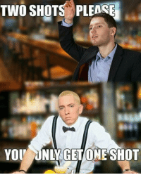 Spaghetti: TWO SHOTS PLEASE  YOU ONLY GET ONE SHOT Spaghetti