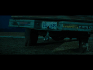 In the movie 'Deadpool 2' (2018) the scene with Cable shooting the rednecks (one is Matt Damon btw) & driving away, a set of silver balls can be seen hanging from the pickup hitch. This refers to the first movie when Deadpool says to NegaSonicTeenageWarhead to go get 'Silver balls' at the X mansion: TWS VEHICLE SACES PREDUENT STOPS  OIA 845  SAVE A HORSE  RIDE ME  AT YOUR MOM'S HOASE In the movie 'Deadpool 2' (2018) the scene with Cable shooting the rednecks (one is Matt Damon btw) & driving away, a set of silver balls can be seen hanging from the pickup hitch. This refers to the first movie when Deadpool says to NegaSonicTeenageWarhead to go get 'Silver balls' at the X mansion