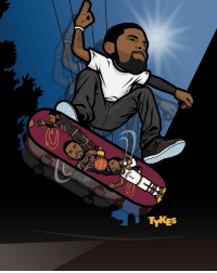 Tykes skate decks are on the way! @NBALAB, @SHUTNYC, and @MyTyke have teamed up to produce a super limited run of skate decks with your favorite NBA stars. There is still time to enter the contest to win your own! To enter, all you have to do is simply tag two friends in the comments followed by the hashtag IWantMySkakeDeck on the previous skate deck posts of Stephen Curry and Kyrie Irving.: TYKES Tykes skate decks are on the way! @NBALAB, @SHUTNYC, and @MyTyke have teamed up to produce a super limited run of skate decks with your favorite NBA stars. There is still time to enter the contest to win your own! To enter, all you have to do is simply tag two friends in the comments followed by the hashtag IWantMySkakeDeck on the previous skate deck posts of Stephen Curry and Kyrie Irving.