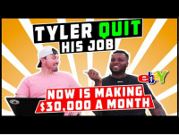 Joe, Now, and Interesting: TYLER DUIT  HIS JOE  elay  NOW IS MAKINGL  $30,000 A MONTH Very interesting