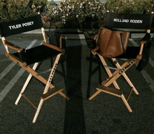 wolfies-love:   The last scene of the teen wolf was recorded by Tyler Posey and Holland Roden. Two  of the top guys, who have six years playing these wonderful characters  that are Scott McCall and Lydia Martin, and it's the last time we'll see  these chairs together.  : TYLER POSEY  HOLLAND RODEN wolfies-love:   The last scene of the teen wolf was recorded by Tyler Posey and Holland Roden. Two  of the top guys, who have six years playing these wonderful characters  that are Scott McCall and Lydia Martin, and it's the last time we'll see  these chairs together.