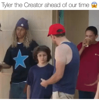 Friends, Memes, and Tyler the Creator: Tyler the Creator ahead of our time What do you guys think about that knowledge tylerthecreator posseses⁉️ ( @illegalciv ) Follow @bars for more ➡️ DM 5 FRIENDS