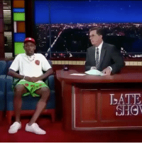Memes, 🤖, and The Late Show: tylerthecreator visits The Late Show
