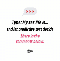 My Sex Life Is