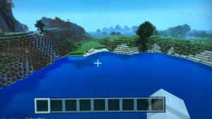 Minecraft, Ps4, and Bar: + Typed watersheep into the seed bar in Minecraft ps4. Anyone else see similarities between this and pewds' place?