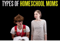 Share this video if one of these types of moms is YOUR mom!: TYPES OF HOMESCHOOL MOMS Share this video if one of these types of moms is YOUR mom!