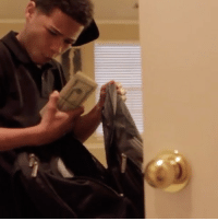 Memes, 🤖, and Invest: Tyreik found my money and asked me to go get iced up. The object of the game is to invest and make money, not look like money 💰🤔(Via @tyreikandnate) 📽 @mxster_miyagi @worldstar WSHH