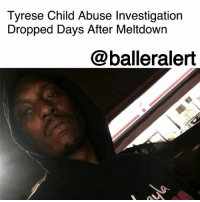 """Tyrese Child Abuse Investigation Dropped Days After Meltdown – blogged by @MsJennyb ⠀⠀⠀⠀⠀⠀⠀ ⠀⠀⠀⠀⠀⠀⠀ Just days after Tyrese's meltdown over his daughter and restraining order his ex-Norma Gibson attempted to file against him, E! News reports that the singer is officially off the hook for child abuse. ⠀⠀⠀⠀⠀⠀⠀ ⠀⠀⠀⠀⠀⠀⠀ Initially, Gibson accused the singer of physically abusing their 10-year-old daughter, Shayla. She claimed Tyrese beat the little girl and hit her while she was pregnant, prompting the Department of Child and Family Services to launch an investigation into the singer. ⠀⠀⠀⠀⠀⠀⠀ ⠀⠀⠀⠀⠀⠀⠀ However, since then, the LADCFS said it would not be pressing charges against the singer. On Thursday, the singer revealed that he would be taking a trip out of """"toxic"""" Los Angeles as the restraining order looms.: Tyrese Child Abuse Investigation  Dropped Days After Meltdowrn  @balleralert Tyrese Child Abuse Investigation Dropped Days After Meltdown – blogged by @MsJennyb ⠀⠀⠀⠀⠀⠀⠀ ⠀⠀⠀⠀⠀⠀⠀ Just days after Tyrese's meltdown over his daughter and restraining order his ex-Norma Gibson attempted to file against him, E! News reports that the singer is officially off the hook for child abuse. ⠀⠀⠀⠀⠀⠀⠀ ⠀⠀⠀⠀⠀⠀⠀ Initially, Gibson accused the singer of physically abusing their 10-year-old daughter, Shayla. She claimed Tyrese beat the little girl and hit her while she was pregnant, prompting the Department of Child and Family Services to launch an investigation into the singer. ⠀⠀⠀⠀⠀⠀⠀ ⠀⠀⠀⠀⠀⠀⠀ However, since then, the LADCFS said it would not be pressing charges against the singer. On Thursday, the singer revealed that he would be taking a trip out of """"toxic"""" Los Angeles as the restraining order looms."""