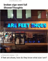 Are Feet Shoes