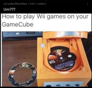 No One Gaymeranx DAT PURPL 1217 10 Things Only GameCube