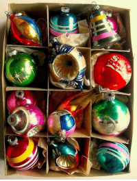 My grandma had these ornaments on her tree.... who loves these... I sure do! For more awesome holiday and fun pictures go to... www.snowflakescottage.com: u My grandma had these ornaments on her tree.... who loves these... I sure do! For more awesome holiday and fun pictures go to... www.snowflakescottage.com