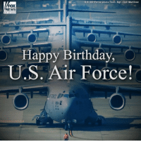 Birthday, Memes, and News: U.S. Air Force photo/Tech. Sgt. Jodi Martinez  FOX  NEWS  channoi  Happy Birthday,  U.S. Air Force!  84 Happy 71st birthday to the @usairforce! Thank you to the brave men and women who have served and continue to serve this great nation. ProudAmerican AFBday