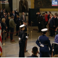 The Bush family thanked mourners who were paying their respects to former President George H.W. Bush at the U.S. Capitol Tuesday.: U.S. Capitol  Washington D.C  FOX  NEWS  channel The Bush family thanked mourners who were paying their respects to former President George H.W. Bush at the U.S. Capitol Tuesday.
