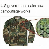 Dank, Dope, and Internet: U.S government leaks how  camouflage works Gotta be safe with those doggos 🐶 - Liked the memes? Turn on my post notifications for quick laughs 🤘🏼 Dope gaming store- @gamersdelivery Backup- @memerzone - Tags (Ignore) 🚫 GamingPosts CallOfDuty Memes Cod codww2 Gaming Tumblr FunnyPosts Xbox LMAO Playstation XboxOne Internet Selfie CSGO Gamer SelenaGomez Follow Dank Meme Spongebob Like YouTube Relatable Memes DankMemes