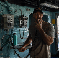 Memes, Navy, and Pearl Harbor: (U.S. Navy/Mass Communication Specialist 3d Class Jessica 0. Blackwell) While visiting Pearl Harbor, TimTebow thanked the crew of the destroyer USS Chung-Hoon for their service.