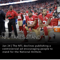 """Memes, Nfl, and Super Bowl: U.S. NEW  NFLTAKESSTAND  Jan 24 