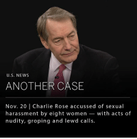 """Charlie, Memes, and News: U.S. NEWS  ANOTHER CASE  Nov. 20 