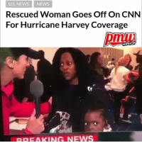Woman goes off on reporters trying to interview people for sensationalism. Thoughts? Full video at pmwhiphop.com link in bio: U.S. NEWS NEWS  Rescued Woman Goes Off On CNN  For Hurricane Harvey Coverage  HIPHOP  BREAKING NEWS Woman goes off on reporters trying to interview people for sensationalism. Thoughts? Full video at pmwhiphop.com link in bio