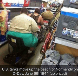 Dank, Memes, and Target: U.S. tanks move up the beach of Normandy on  D-Day, June 6th 1944 (colorized) Whoaaaa by SharkyTV_YT MORE MEMES