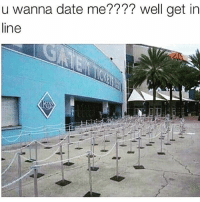 You'll be waiting. . • @DOYOUEVEN 👈🏼 FREE SHIPPING on ALL ORDERS! 🚚🌎 link in BIO ✔️: u wanna date me???? well get in  line You'll be waiting. . • @DOYOUEVEN 👈🏼 FREE SHIPPING on ALL ORDERS! 🚚🌎 link in BIO ✔️