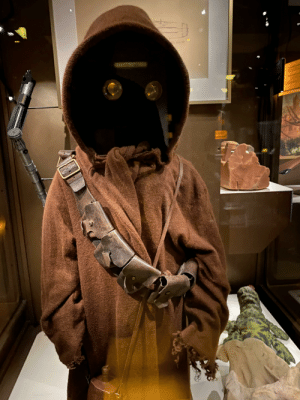 /u/WesTinLA reminded me that the Jawa costume was on display! So awesome. Shot at the Museum of Pop Culture in Seattle.: /u/WesTinLA reminded me that the Jawa costume was on display! So awesome. Shot at the Museum of Pop Culture in Seattle.