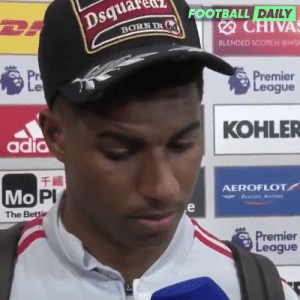 """Football, Memes, and Manchester United: uareta  FOOTBALL DAILY  BORN NG  BLENDED SCOTCH WHIS  Pr  remier  eague  KOHLER  adid  千禧  PI  Mo F  AEROFLOT  The Be  Premier  eague RT @footballdaily: Rashford: """"We didn't play like Manchester United"""" https://t.co/lOMsgOw5MD"""