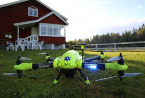 scifiseries:  Defibrillator drones get to the scene 4X faster than an ambulance: UAS  RTSTARTA scifiseries:  Defibrillator drones get to the scene 4X faster than an ambulance