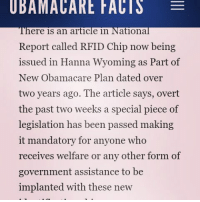 UBAMACARE FACIS E Ere Is an Article in National Report