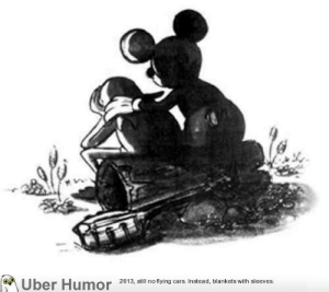 Disney, Family, and Tumblr: Uber Humor 2013, ill no tying ars Instead, blankets with sleeves failnation:  When Jim Henson died the Disney company sent this picture of Mickey Mouse consoling Kermit to his mourning family