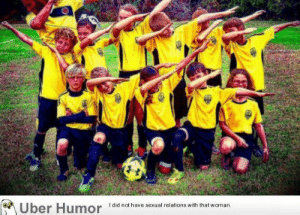Omg, Tumblr, and Uber: Uber Humor Idid nothave sexual relations with tht woman. omg-images:  When you are surrounded by morons but you still have to be in the picture