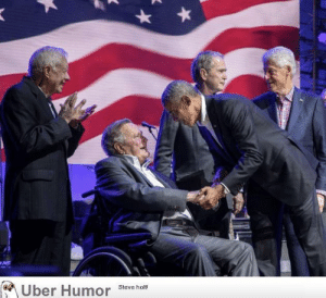 Tumblr, Uber, and Blog: Uber Humor steve ho failnation:  All living former presidents of the United States in 1 picture.