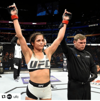 "Life, Love, and Memes: ufc  UFC  UFC Walking the walk...like a G! Repost @ufc ・・・ ""This is my life; I love doing this. I'm excited but this is every day for me."" - @cynthia.calvillo, UFC210"