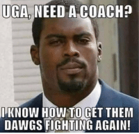 How To, How, and Coach: UGA NEED A COACH?  IKNOW HOW TO GET THEM  DAWGS FIGHTING AGAIN! 🤔🤔😂🤣🤪 https://t.co/Huj7tmoP9I