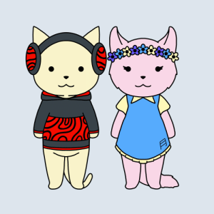 Uh so papa pewds and mamarzia as cats (too bad he apparently hates Sven cat): Uh so papa pewds and mamarzia as cats (too bad he apparently hates Sven cat)