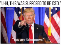 """FAKE NEWS, FAKE NEWS, FAKE NEWS...YOU SIR ARE FAKE NEWS!!! 👆🏼 BaristaLife FakeNews • PS if u are looking for a second job, download the app in our bio to speed up the process!: """"UHH, THIS WAS SUPPOSED TO BE ICED  II  #BARISTALIFE  IG: @BARISTA LIFE.  ou are fake news FAKE NEWS, FAKE NEWS, FAKE NEWS...YOU SIR ARE FAKE NEWS!!! 👆🏼 BaristaLife FakeNews • PS if u are looking for a second job, download the app in our bio to speed up the process!"""